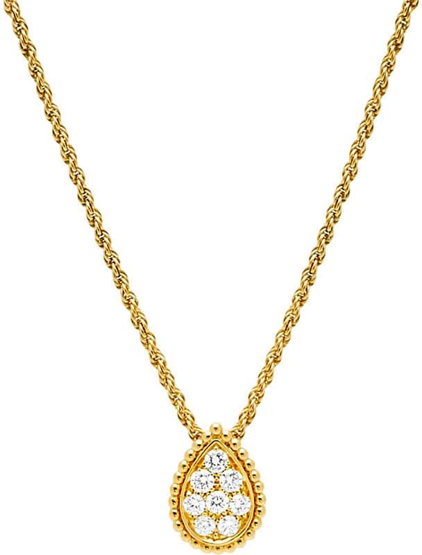 Boucheron Serpent Bohème 18ct yellow-gold and diamond pendant necklace
