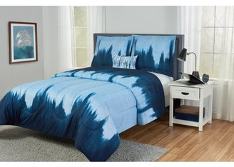 Better Homes & Gardens Better Homes and Gardens Kids Blue Wash Wave Comforter Set