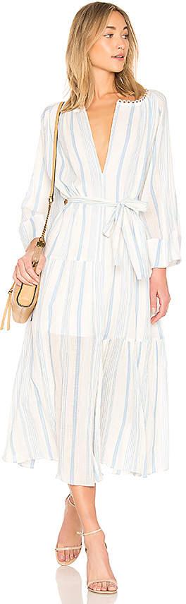 Apiece Apart Stella Shirred Tiers Dress