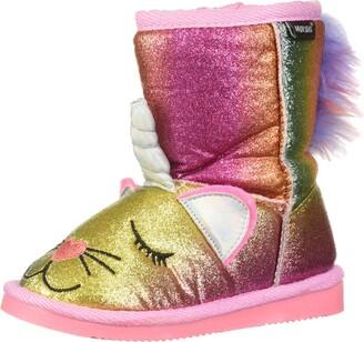 Muk Luks Girls Averly Unikitten Boots Fashion