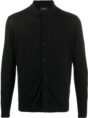 Roberto Collina Button-Down Polo Shirt