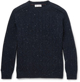 Brunello Cucinelli - Mélange Cable-knit Sweater