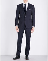 Ralph Lauren Purple Label Pinstriped Slim-fit Wool Suit