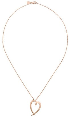 Shaun Leane signature Tusk Heart necklace