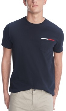 Tommy Hilfiger Men's Flag Icon Pocket T-Shirt