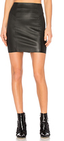 Alexander Wang Nappa Mini Skirt in Black. - size 2 (also in )