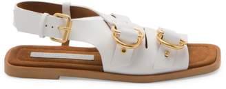 Stella McCartney Buckle Slingback Sandals