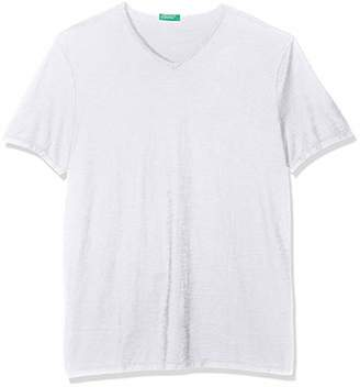Benetton Men's T-Shirt Kniited Tank Top Not Applicable,One Size (Manufacturer Size: Small)