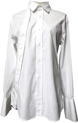 A.F.Vandevorst White Cotton Top for Women