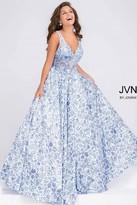 Jovani Embroidered Bodice Prom Ballgown JVN50050