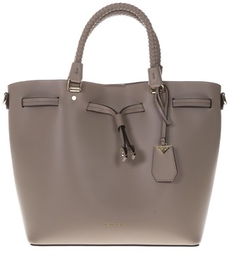 MICHAEL Michael Kors Blakely Leather Taupe Bucket Bag