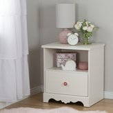 South Shore Furniture Lily Rose 1-Drawer Nightstand