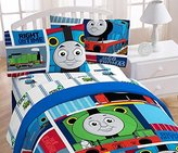"Mattel Thomas the Tank Engine ""Fun"" 39"" x 75"" Twin Sheet Set"