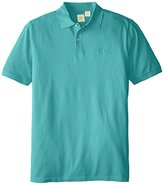 Dockers Big & Tall Soda Wash Solid Pique Polo Shirt