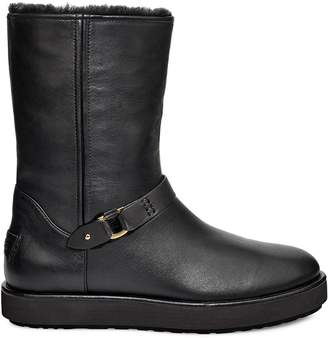 UGG Luxury Classic Berge Shearling-Lined Leather Booties