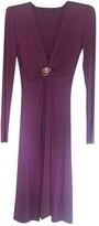 Roberto Cavalli Purple Cotton - elasthane Dress for Women