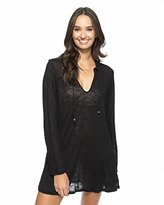 Athena Women's Cabana Solids Tunic Cover Up