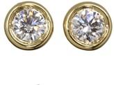 Tiffany & Co. 18K Yellow Gold Diamond By the Yard Pierced Earrings