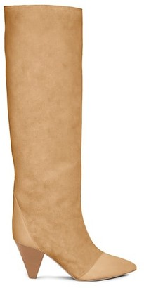 Isabel Marant Leoul Suede & Leather Tall Boots