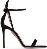 Aquazzura Deneuve 105mm bow sandals