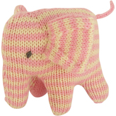 Hand-Knit Elephant