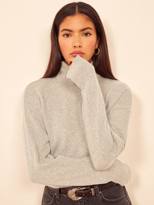 Reformation Cashmere Boyfriend Turtleneck
