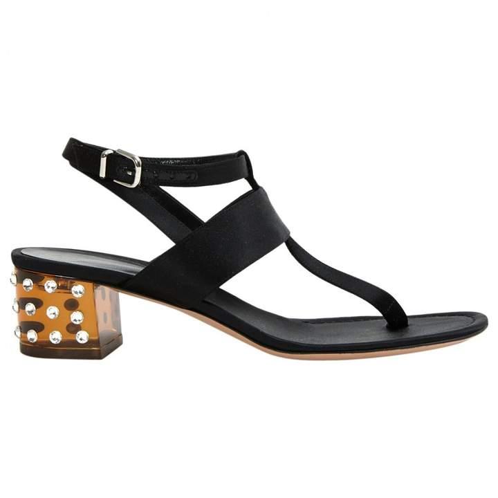 Gianvito Rossi Canvas Sandals