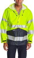 JOBMAN Workwear Men's High Visibility Raincoat