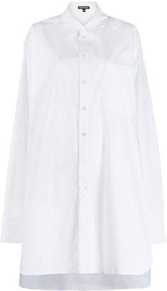 Ann Demeulemeester oversized long-sleeved shirt