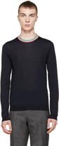 Paul Smith Navy Merino Sweater