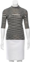 Missoni Plisse Wool Top