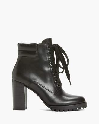 Paige NICOLE BOOT IN LEATHER-BLACK