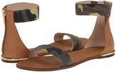 Yosi Samra Cambelle Washed Camo Leather Sandal