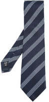 Ermenegildo Zegna striped tie - men - Silk - One Size