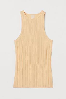 H&M Ribbed vest top