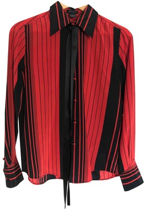Marc Jacobs Red Silk Top for Women