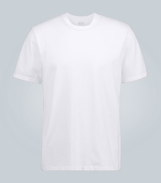 LES TIEN Classic short-sleeved T-shirt white