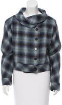 Carolina Herrera Woven Wool Jacket