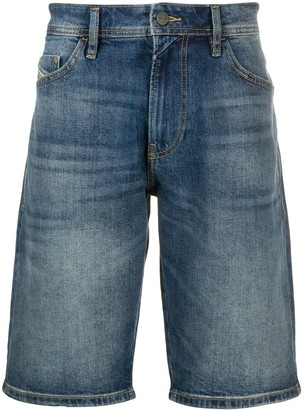 Diesel Straight-Leg Denim Shorts