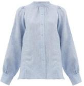 Max Mara Malaga Shirt - Womens - Light Blue