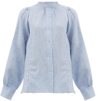 Max Mara Malaga Shirt - Womens - Light Blue