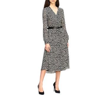 MICHAEL Michael Kors Dress Dress With Floral Print And Belt