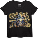 Ripple Junction Doctor Who Van Gogh Pandoric Torrid Scoop Women's Shirt