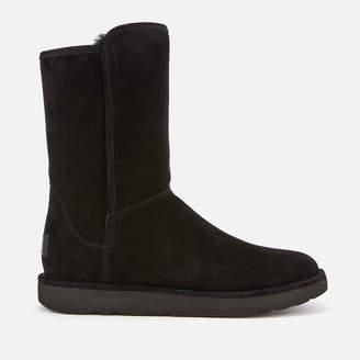 UGG Women's Abree Short II Sheepskin Boots - Nero