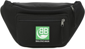 Balenciaga Explorer Logo Patch Belt Bag