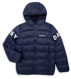 DKNY Boy's Midweight Puffer Jacket