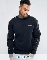 Ellesse Sweatshirt With Gold Piping