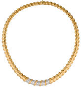 Roberto Coin 18K Diamond Nabucco Collar