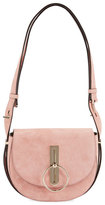 Nina Ricci Suede Saddle Bag