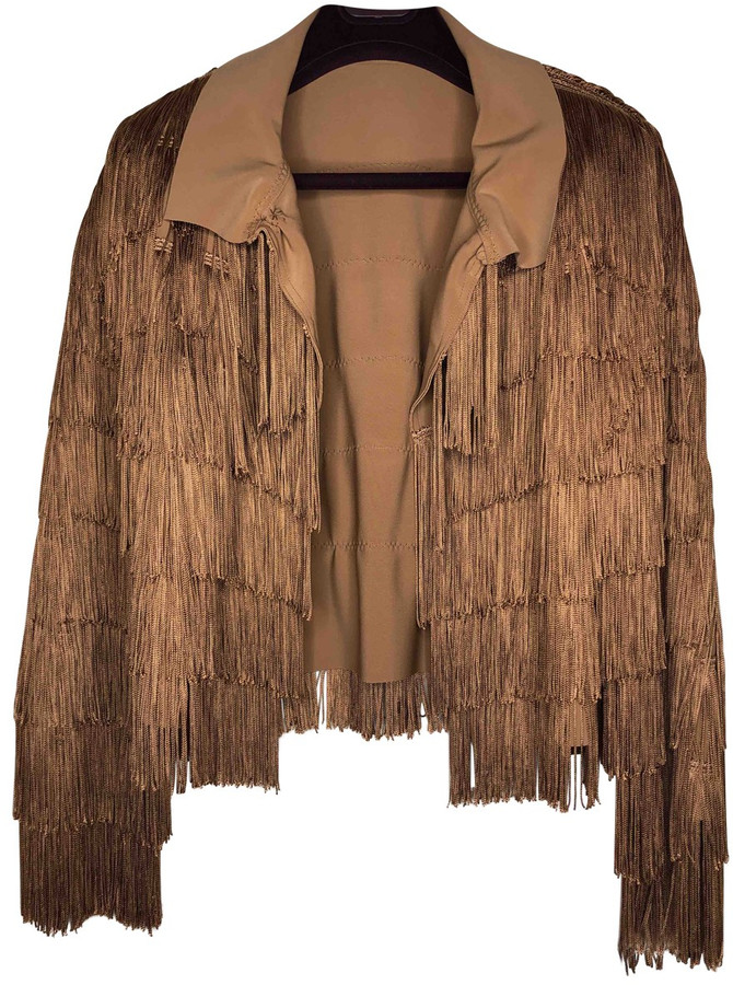 Thumbnail for your product : Norma Kamali Camel Polyester Jackets